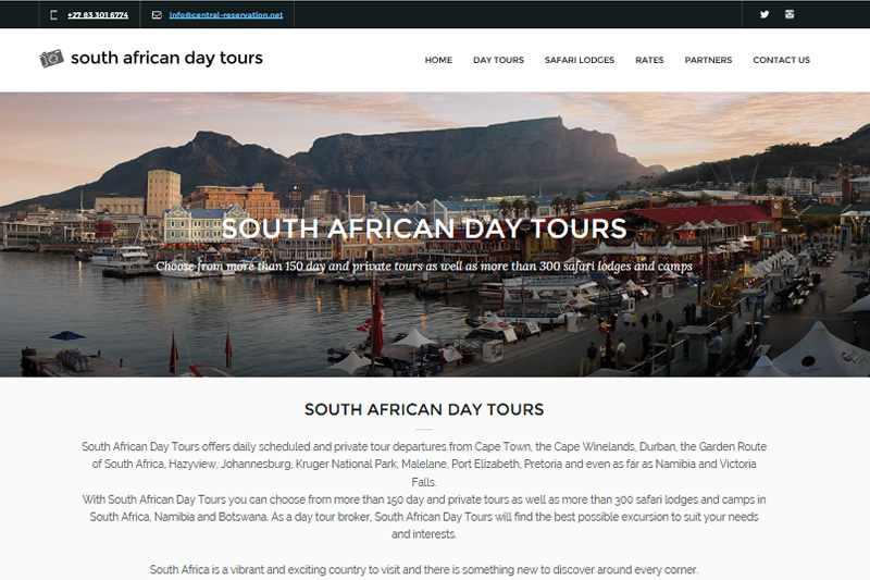 South African Day Tours